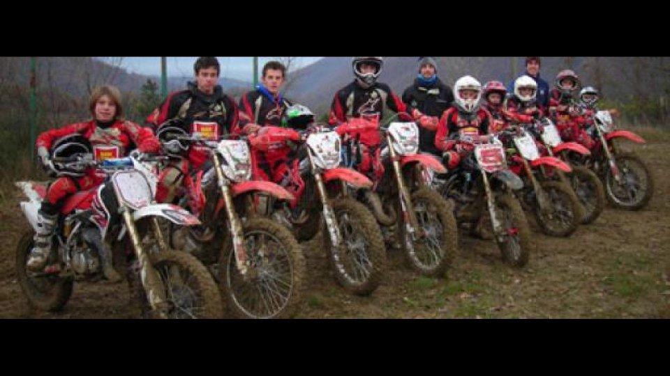 Moto - News: San Carlo Junior Team: a Polcanto, il fango piace