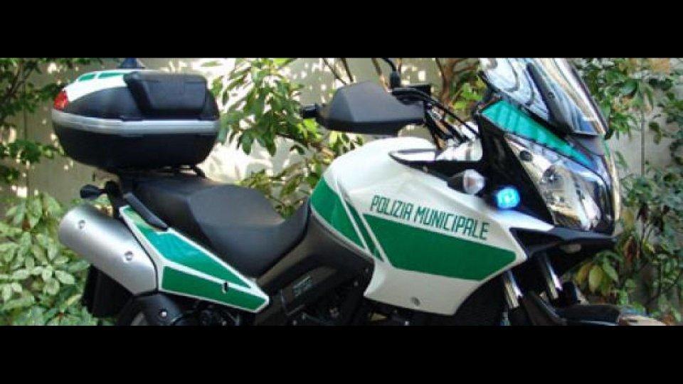 Moto - News: Suzuki V-Strom al 7° Congresso Nazionale Polizia Locale