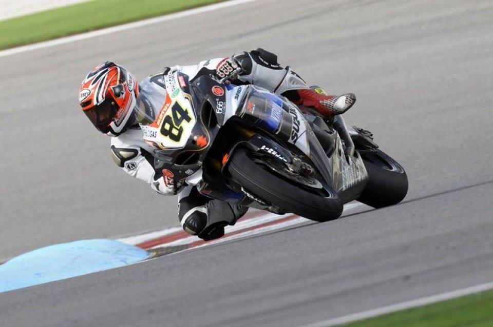 "Moto - News: Fabrizio: ""Una caduta utile"""