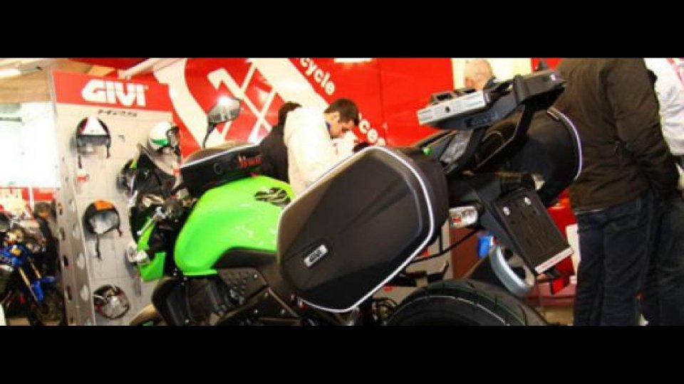 Moto - News: GIVI al Motor Bike Expo 2011