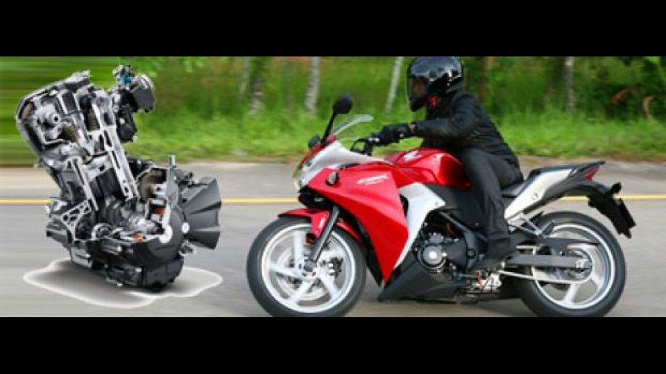 Moto - News: Honda CBR250R: Tutta la tecnica