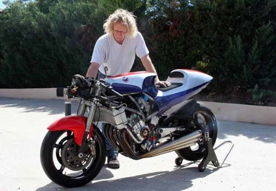 Moto - News: Moto2? naah, ecco la Coulon 6 cilindri!