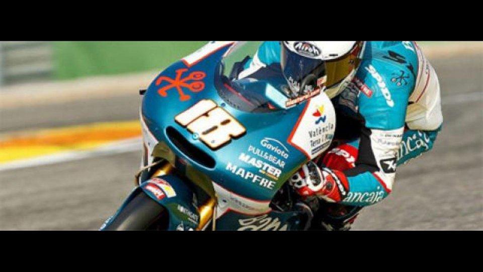Moto - News: 125GP, test Valencia, Day 2: Terol domina
