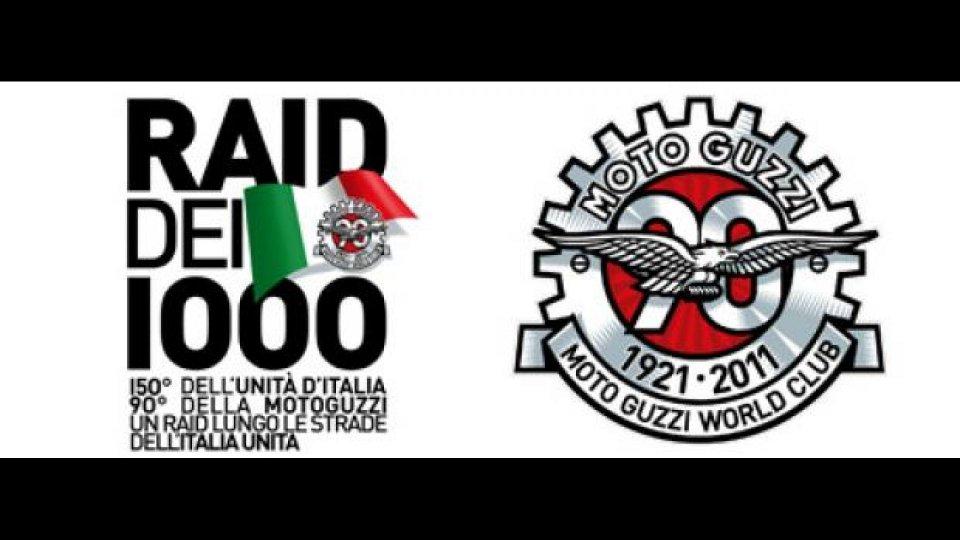 Moto - News: Il Raid dei 1000 in Moto Guzzi