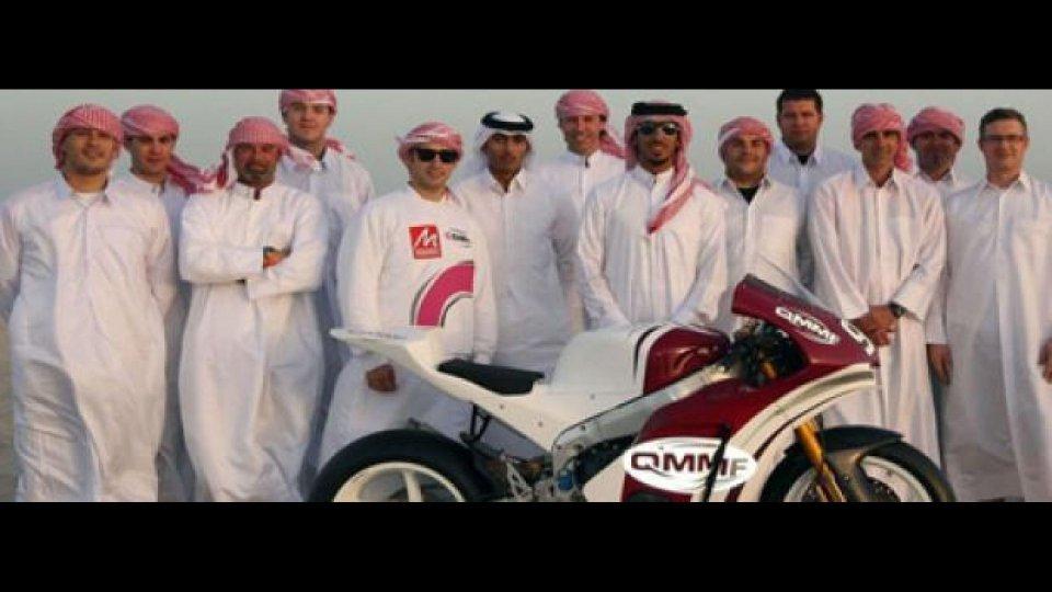 Moto - News: Moto2: QMMF Racing Team in pista a Losail