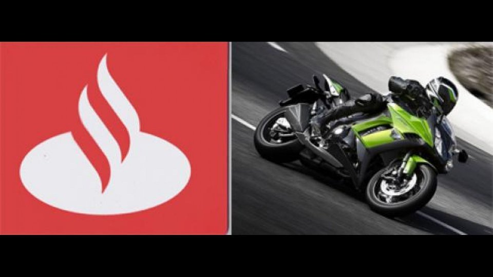 Moto - News: Santander Consumer Bank insieme a Kawasaki Italia