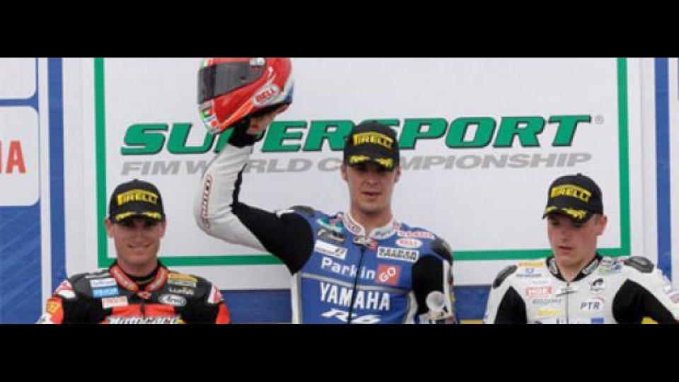 Moto - News: Supersport 2011, Phillip Island: Scassa e Yamaha su tutti