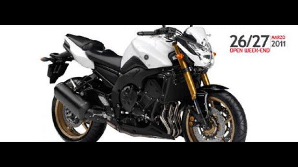 Moto - News: Yamaha: arriva l'Open Week-end 2011