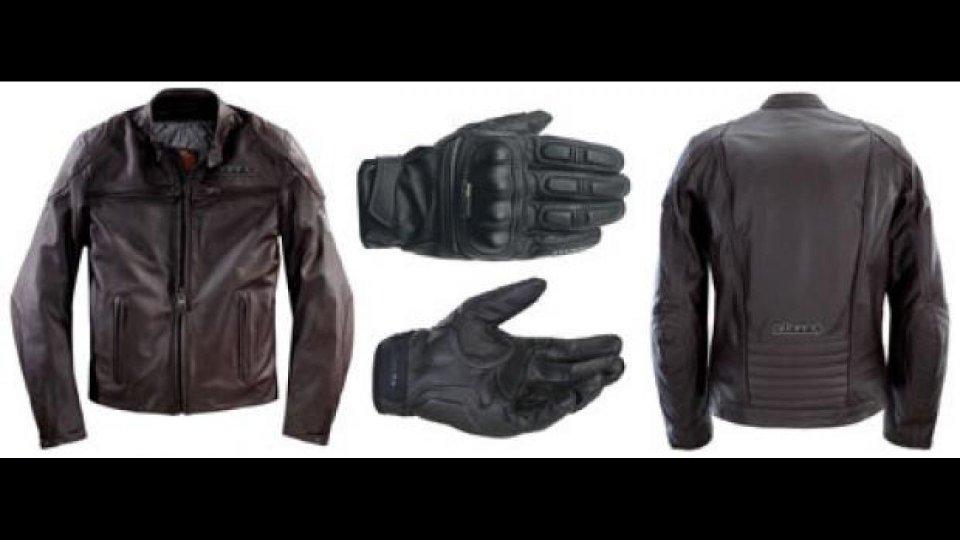 Moto - News: Clover 2011: nuova giacca Bullet e guanto K-V
