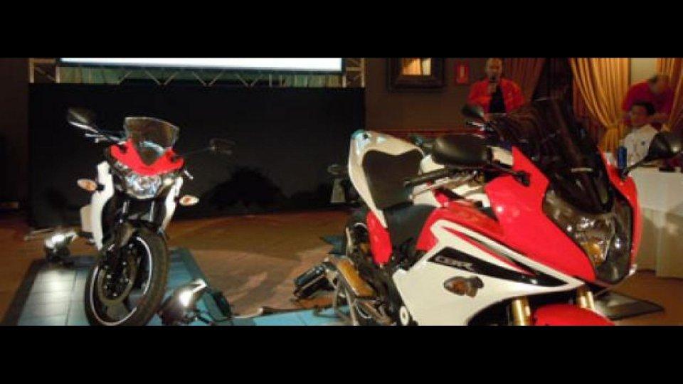 Moto - News: Honda CBR125R, CBR250R, CBR600F 2011: conferenza stampa LIVE