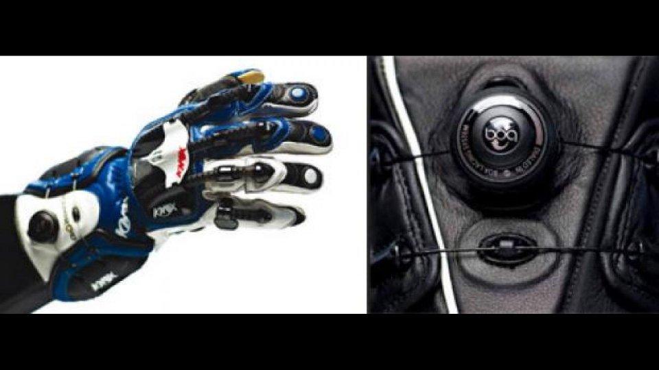 Moto - News: Knox 2011: i guanti Handroid