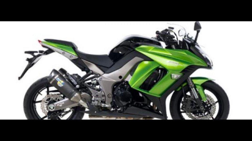 Moto - News: Leovince Factory R EVO II per Kawasaki Z 1000 SX