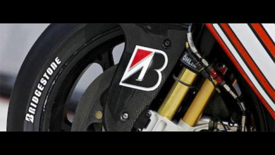 Moto - News: MotoGP, Jerez: Bridgestone non porterà le gomme asimmetriche