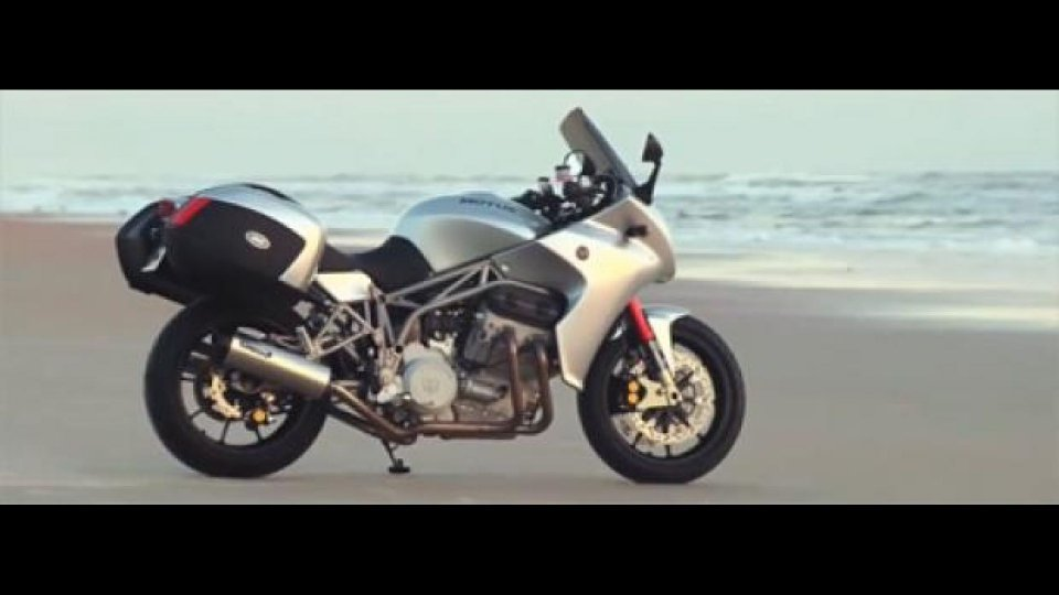 Moto - News: Motus MST-01: eccola in movimento a Daytona