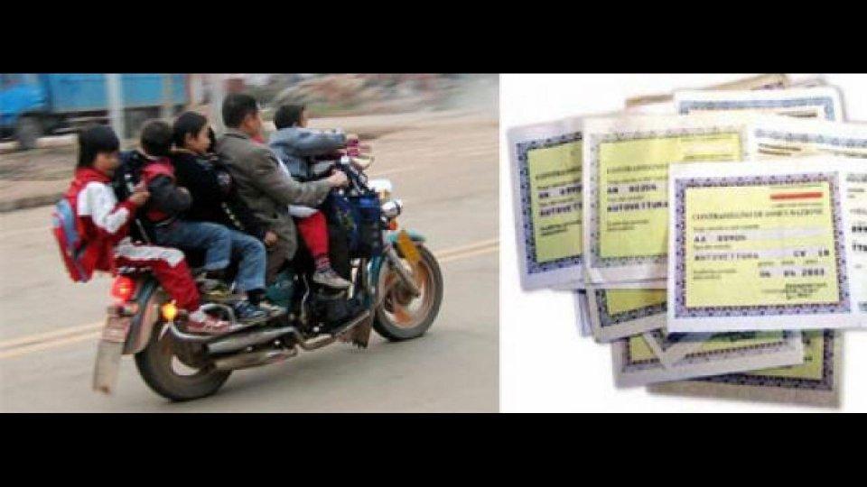 Moto - News: Niente casco? Meno rimborso