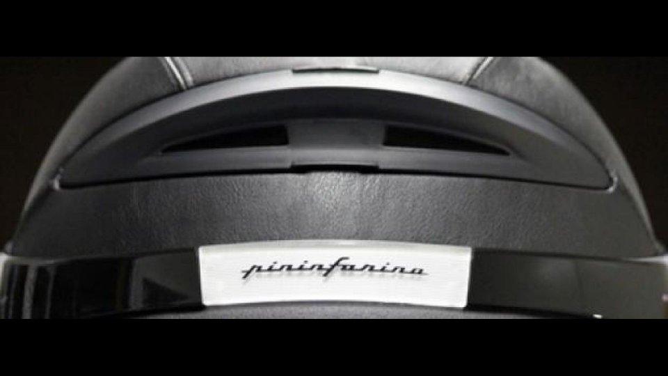 Moto - News: Pininfarina Airflow: il casco disegnato in galleria del vento