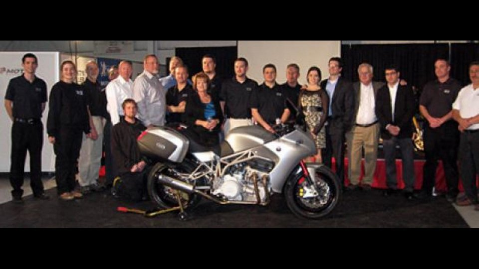 Moto - News: Presentata la Motus MST-01 in Alabama