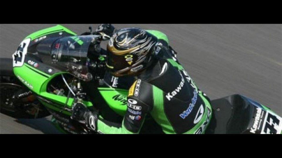 Moto - News: WSBK 2011, Donington, Kawasaki: il ritorno di Vermeulen è ufficiale