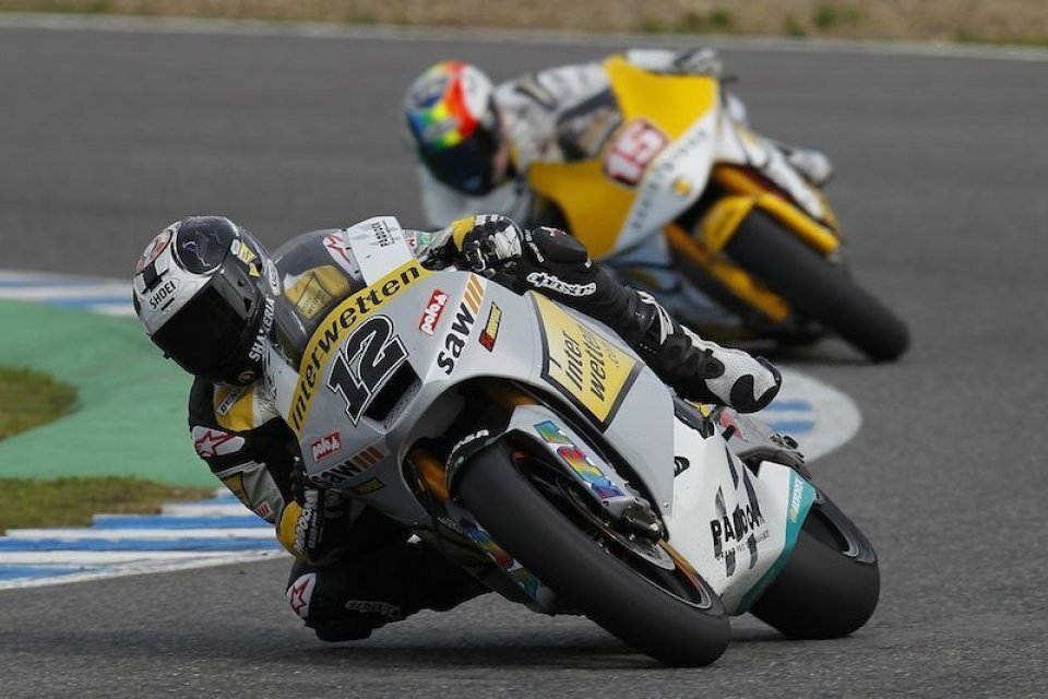 Moto - News: Moto2: Luthi 1° nelle FP3