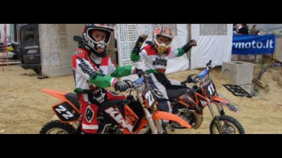 Moto - News: FMI: Trofeo Italia Minicross 50 2011