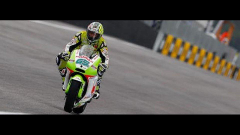 Moto - News: MotoGP, Estoril, Libere3: zampata di Capirossi