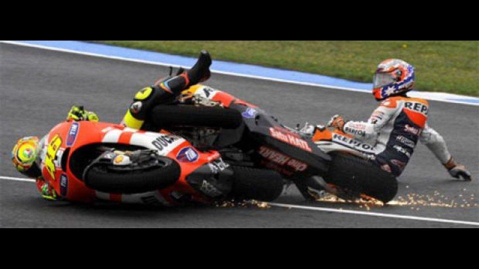 Moto - News: MotoGP, Jerez, Rossi-Stoner: la FIM assolve i commissari