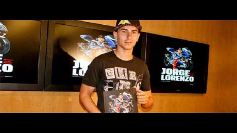 Moto - News: MotoGP, Jorge Lorenzo: nuovo libro e... nuovo motore!