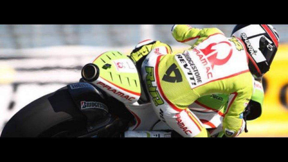 Moto - News: MotoGP, Pramac Racing Team: meglio se piove