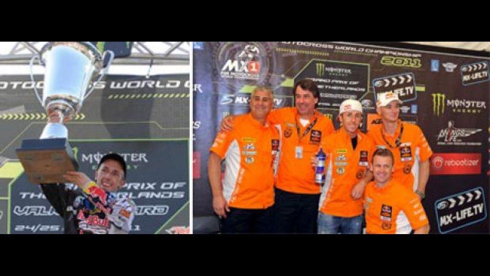 Moto - News: MX1 2011, GP d'Olanda: Cairoli trionfa
