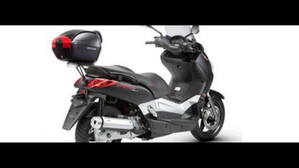Moto - News: Shad per Yamaha X-Max 250/125 2011