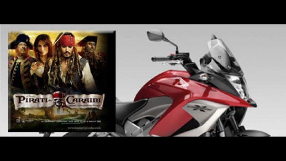Moto - News: Concorso Honda e Walt Disney: vinci una Crossrunner!