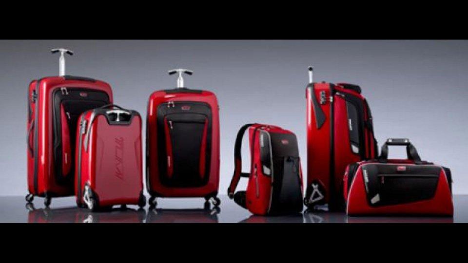 Moto - News: Ducati e Tumi: nuova collezione Autunno Inverno 2011