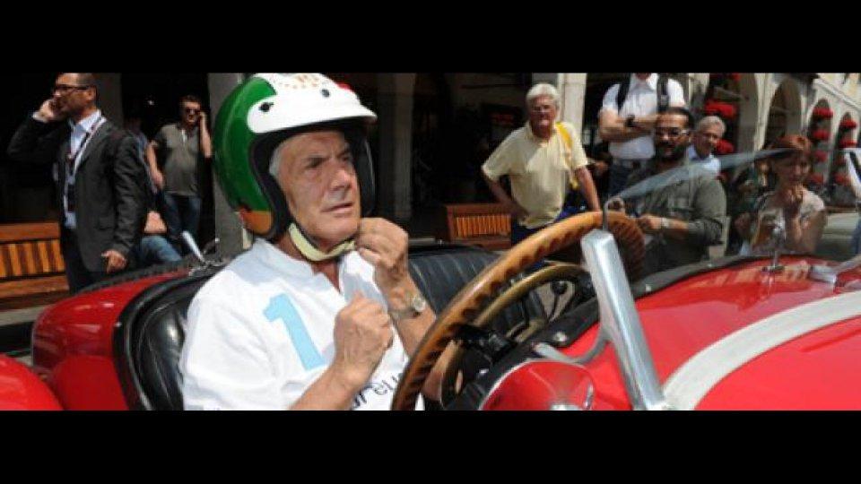 Moto - News: Giacomo Agostini alla Mille Miglia 2011