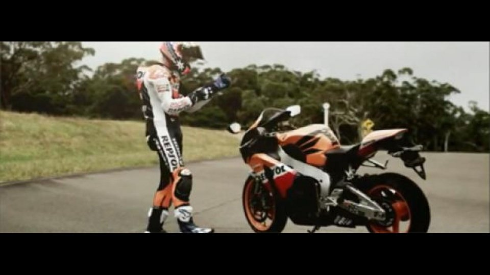 Moto - News: Honda Australia lancia la Fireblade Stoner Replica