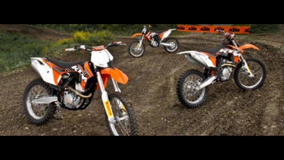 Moto - News: Anteprima KTM Motocross 2012