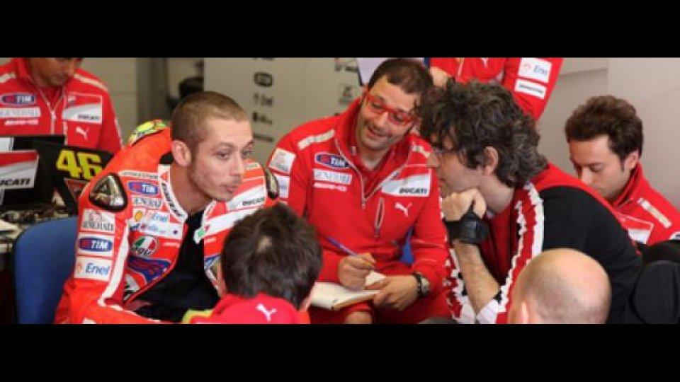 """Moto - News: MotoGP 2011: Rossi approva il telaio """"EVO"""""""