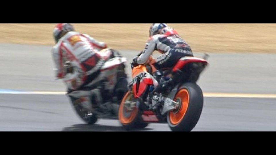 Moto - News: MotoGP 2011, Barcellona: Simoncelli convocato dalla Direzione Gara