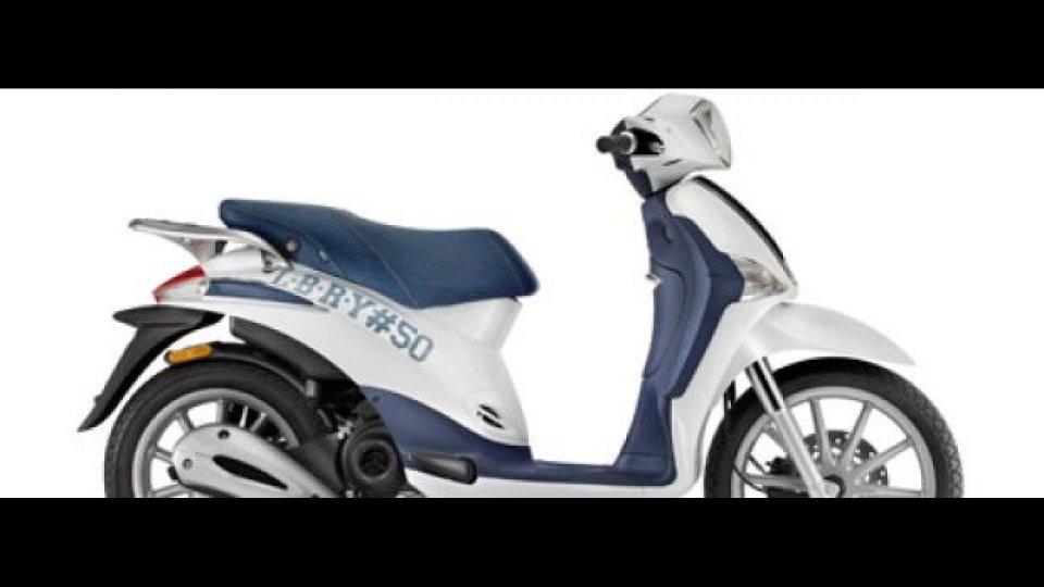 "Moto - News: Nuovo Piaggio Liberty 50 ""Teens"""