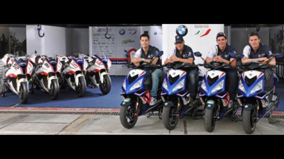 Moto - News: Peugeot Scooters: i tender per i piloti BMW Motorrad Italia Superbike