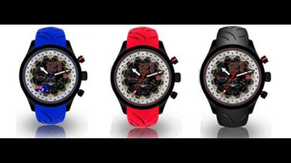 Moto - News: Quarto di Miglio: ecco l'orologio firmato Troy Bayliss