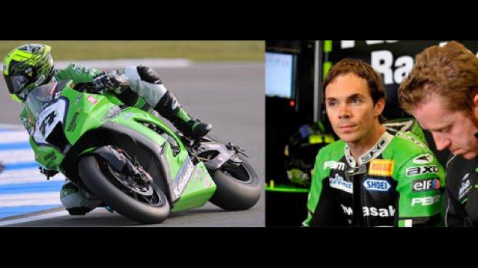 Moto - News: Superbike 2011: Vermeulen salta la gara di Miller