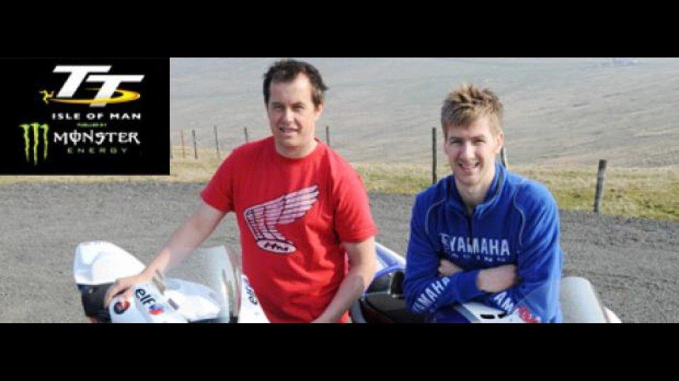 Moto - News: Tourist Trophy 2011: fan e piloti insieme