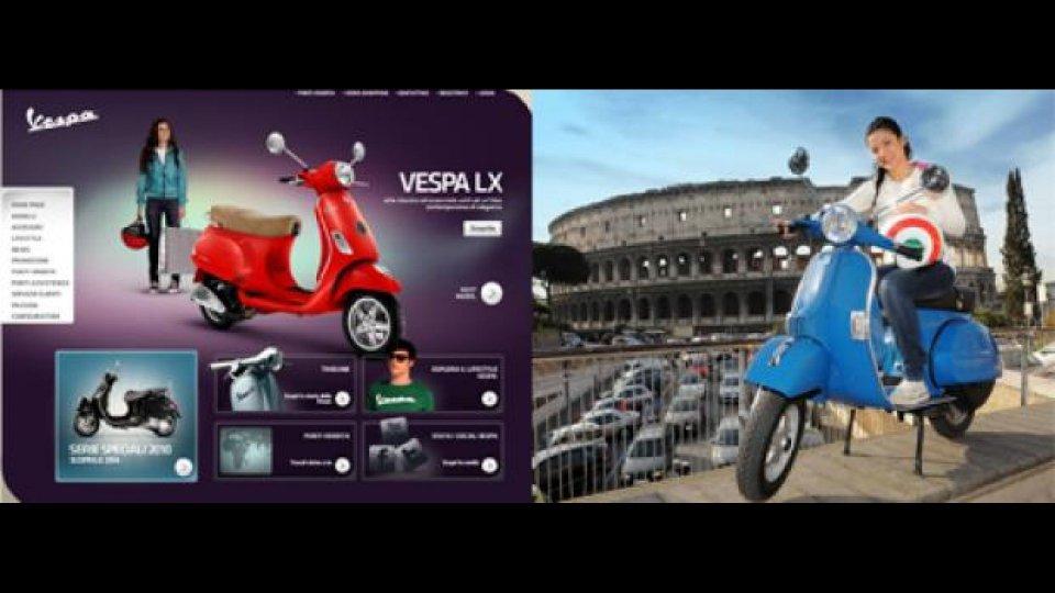 Moto - News: Vespa Vince il Webby Awards 2011