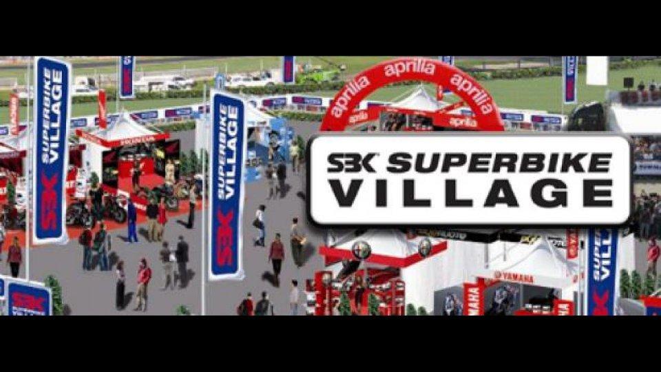 Moto - News: WSBK 2011 - Monza Round: parte il Superbike Village