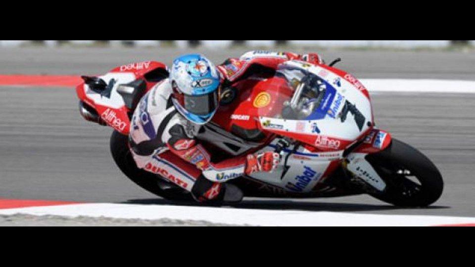 Moto - News: WSBK, Miller, Libere 1: Checa subito al top