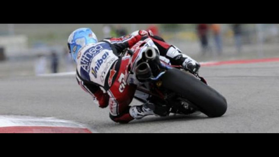 Moto - News: WSBK, Miller, Q2: pista bagnata, non cambia nulla