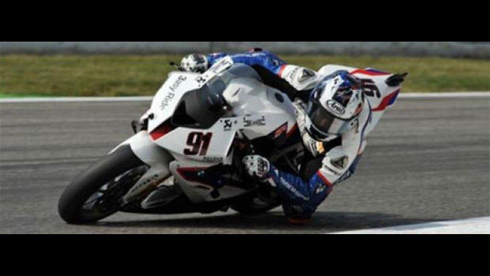 Moto - News: WSBK, Monza, Q2: Haslam ancora davanti