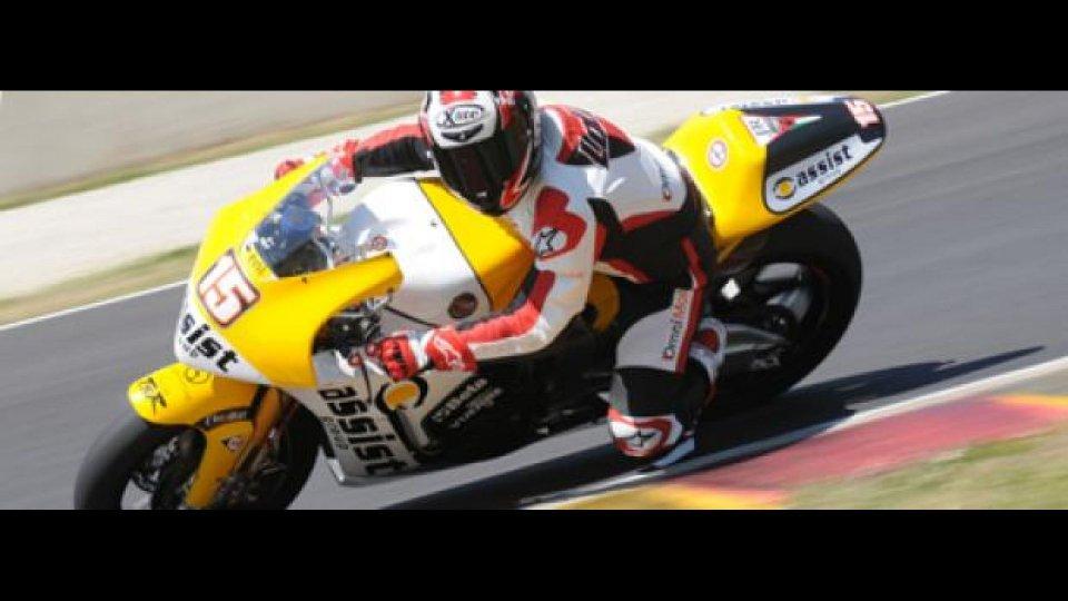 Moto - Test: Prova Moto2 Team JiR: noi come De Angelis