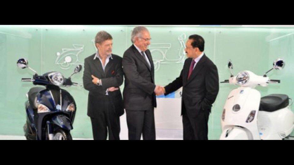 Moto - News: Gruppo Piaggio: investimenti in Asia