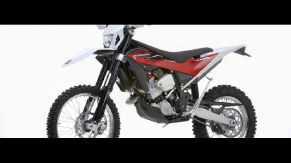 Moto - News: Husqvarna 2012: nuove TE e WR
